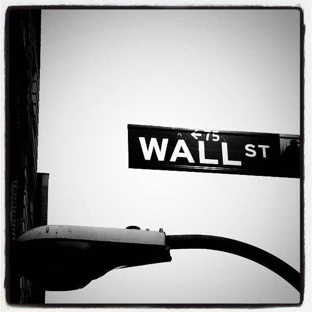 #nyc #wallstreet #sign (Taken with  instagram )