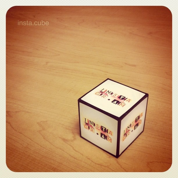my #printsgram - insta.cube (Taken with  instagram )