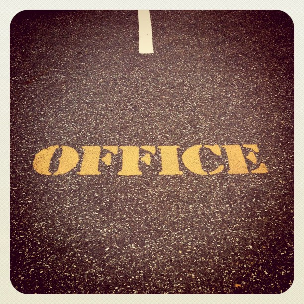 Office Space…literally! (Taken with  instagram )
