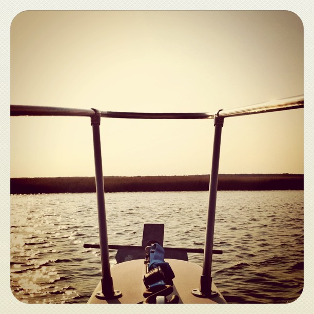 On the water… (Taken with  instagram )