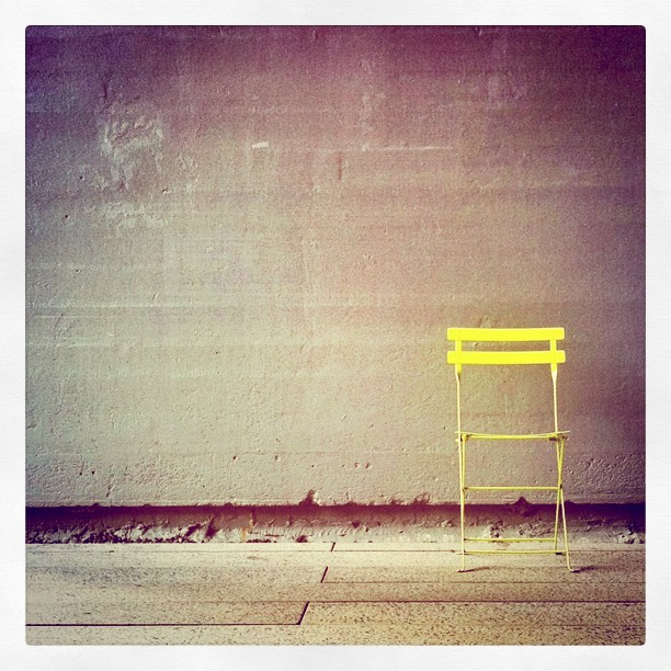 Standalone Chair / High Line / NYC