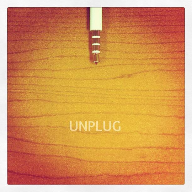 Felt like I needed to UNPLUG last few days! (Taken with  instagram )