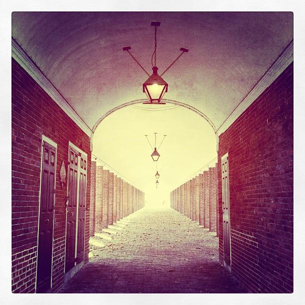 I see the light! #morningwalk #philadelphia (Taken with  instagram )
