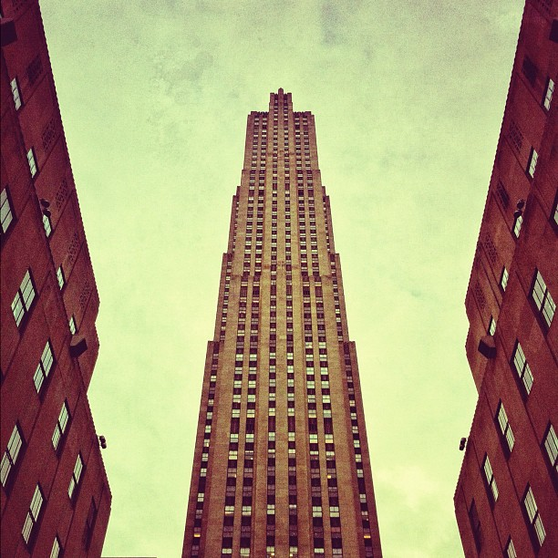 Rockefeller Center - NYC (Taken with  instagram )