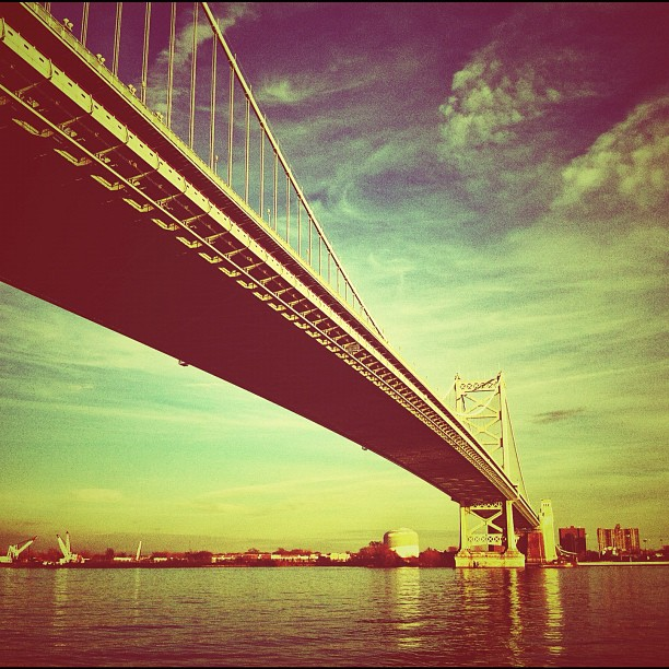 Water under the bridge. (Taken with  instagram )