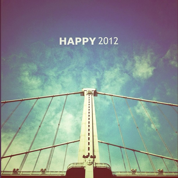 Happy New Year! #HNY2012 (Taken with  instagram )