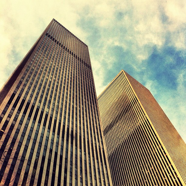 Leaping tall buildings… (Taken with  instagram )