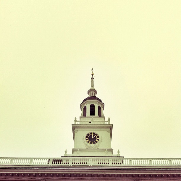Independence Hall #philadelphia (Taken with  instagram )