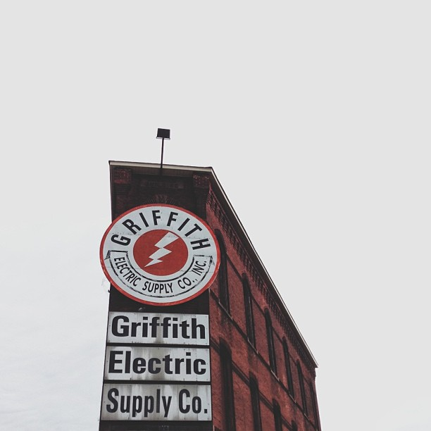 The historic Flat Iron Building in Trenton, NJ stands as a symbol of Griffith Electric Supply for more than 70yrs. #trenton #vscocam