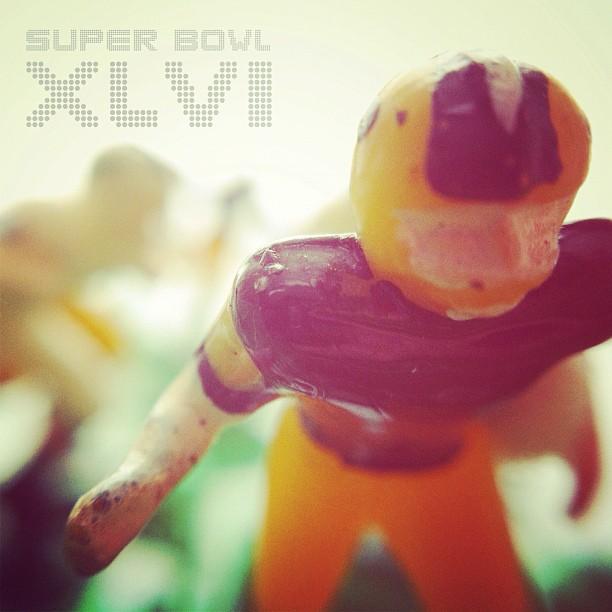 #Superbowl Sunday. #XLVI (Taken with  instagram )