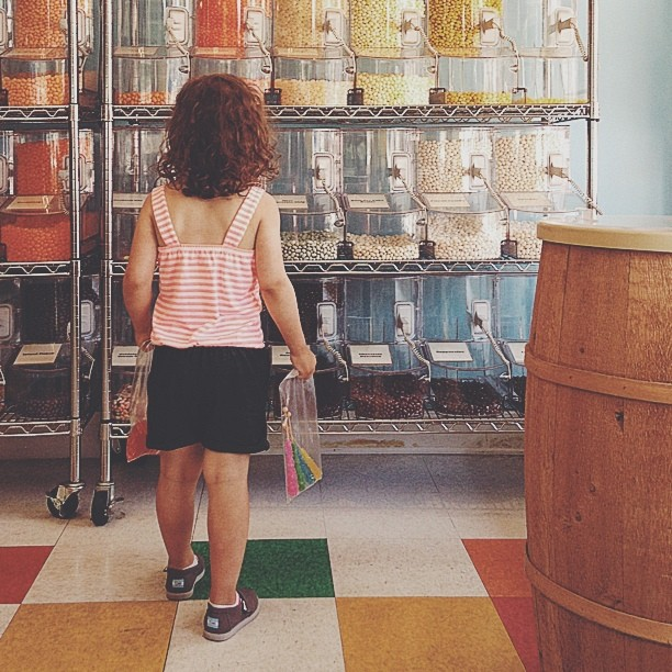 Kid in a candy store #bribery #vscocam