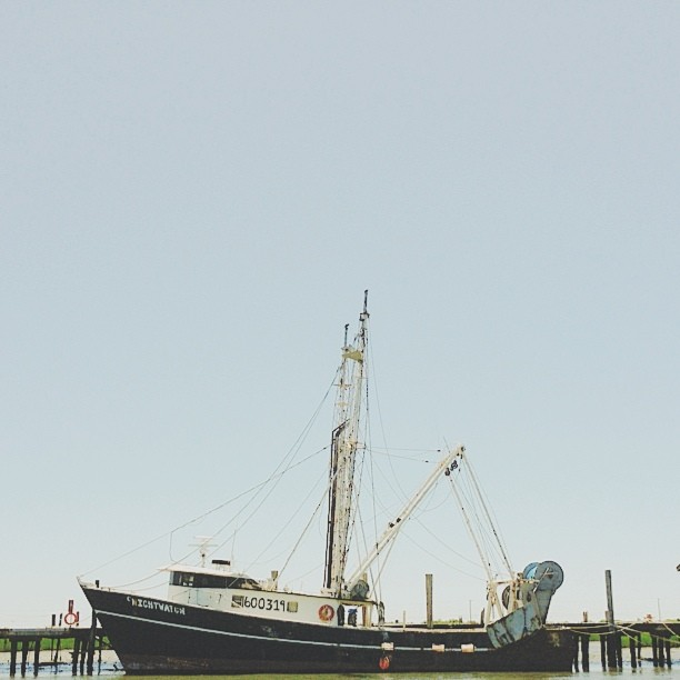 a boat named Nightwatch #vscocam