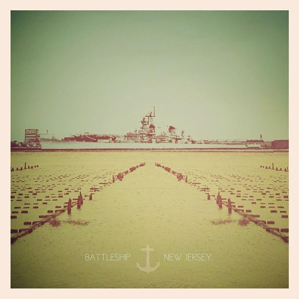 USS NEW JERSEY #BB62 (Taken with  instagram )