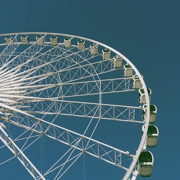Another way to view #niagarafalls #vscocam (at Niagara SkyWheel)