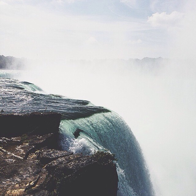 More Niagara Falls (horseshoe) from USA side #vscocam