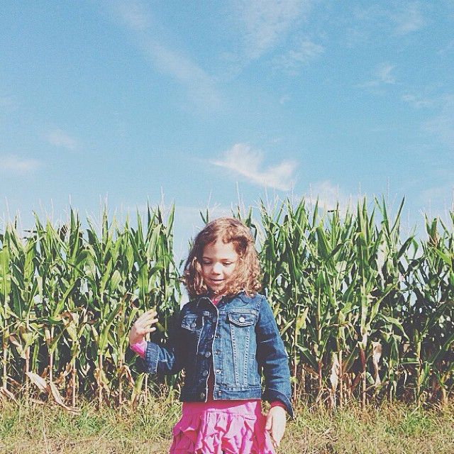 Toddler of the corn! #vscocam
