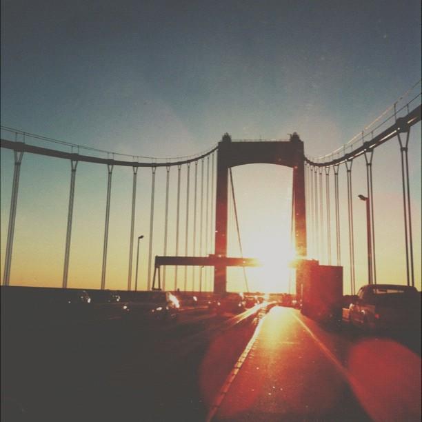 Another bridge pic. Have a great weekend! #philadelphia (at Walt Whitman Bridge)