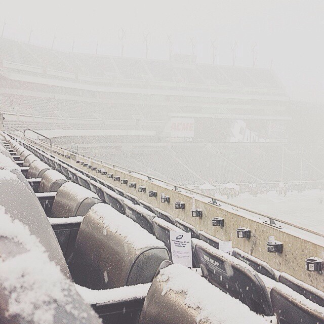 Pre-game Visibility #vscocam (at Lincoln Financial Field)