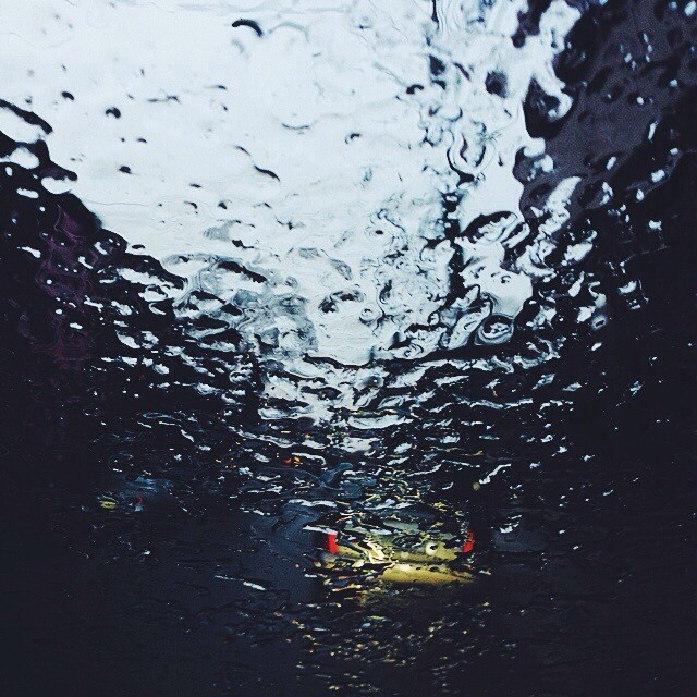 The frozen rain this morning created a natural blur #vscocam
