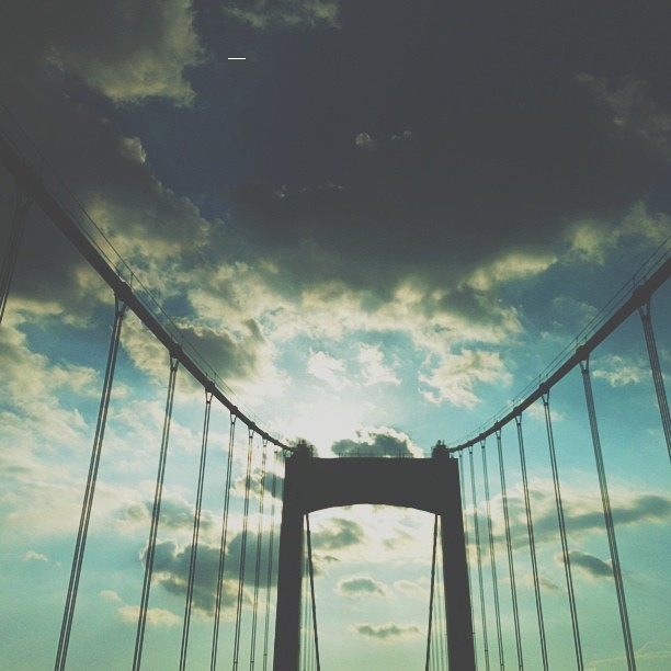Backlit bridge #vscocam