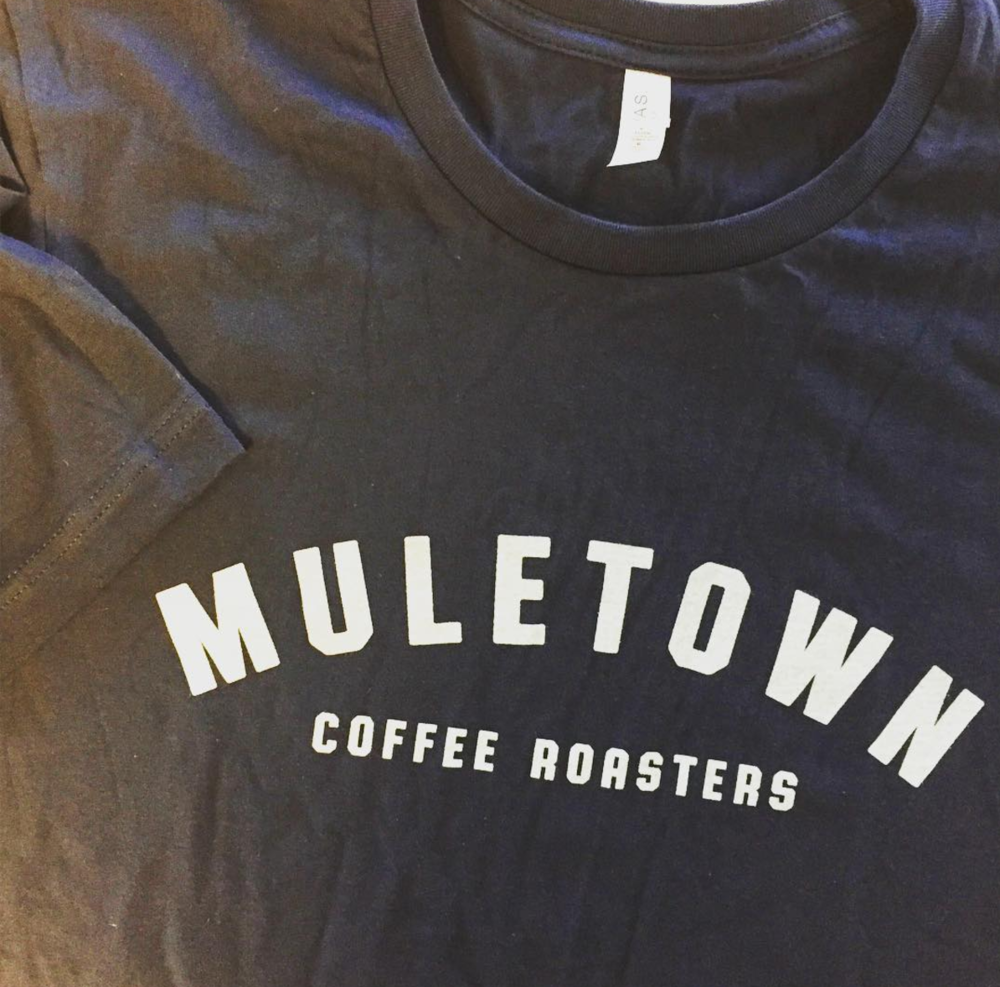 Muletown Coffee Tee design