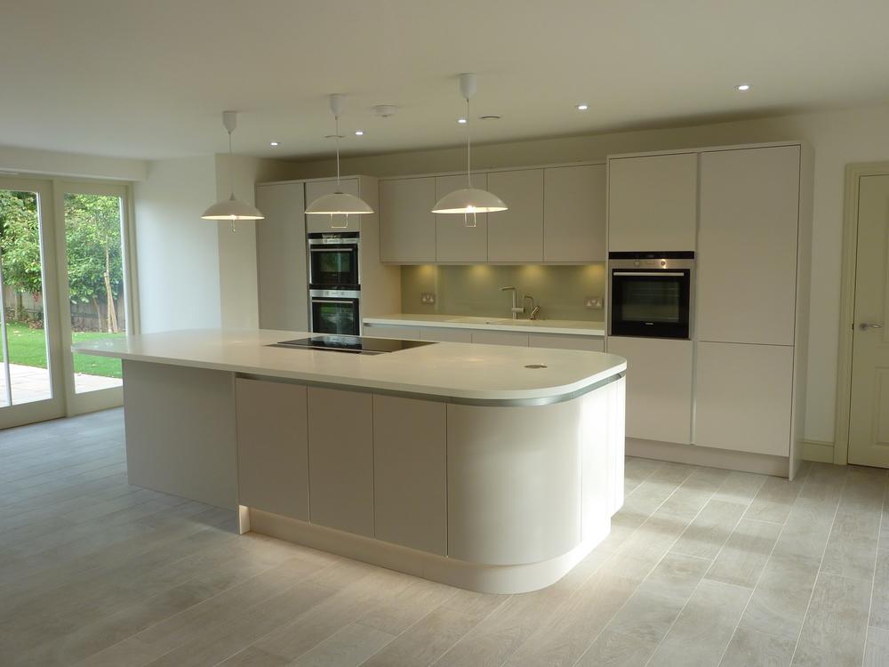 Elegant Matte Cashmere Handless Ashwell Contracts Ltd