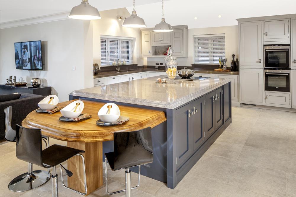 Barn conversion surrey kitchen
