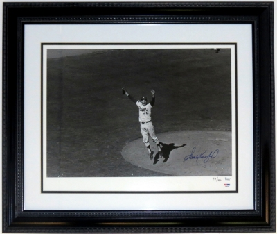 Sandy Koufax World Series 16x20 Photograph
