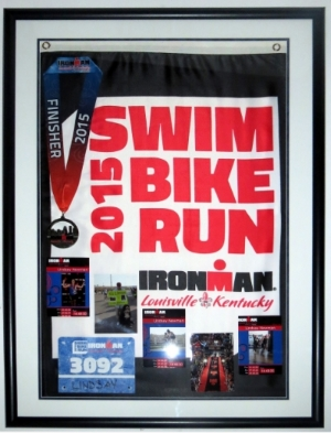 Marathon Medal & Photo & Flag Compilation
