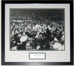 Bill Russell Signed Boston Celtics 16x20 Photo - JSA COA Authenticated - Professionally Framed & Plate