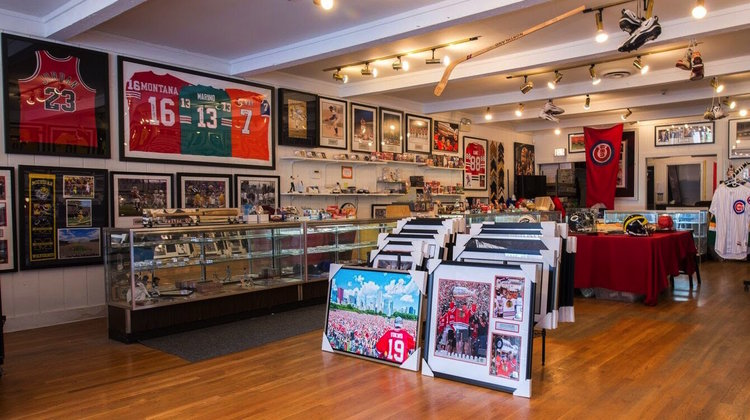 Bleachers Sports & Framing — In Store