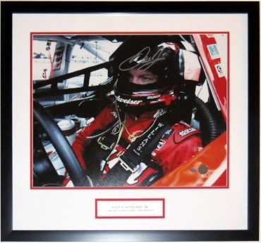 Dale Earnhardt Jr. Signed 16x20 Photo - Mounted Memories COA Authenticated - Professionally Framed