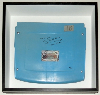 Mike Ditka Signed Soldier Field Stadium Used Seat Back with Super Bowl and Da Coach Inscriptions - BSI COA Authenticated - Custom Framed Shadowbox