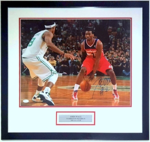 John Wall Signed Wizards 16x20 Photo - JSA COA Authenticated - Professionally Framed & Plate