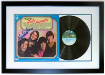 John Sebastian Lovin' Spoonful Autographed Album - PSA DNA COA Authenticated - Professionally Framed & Record