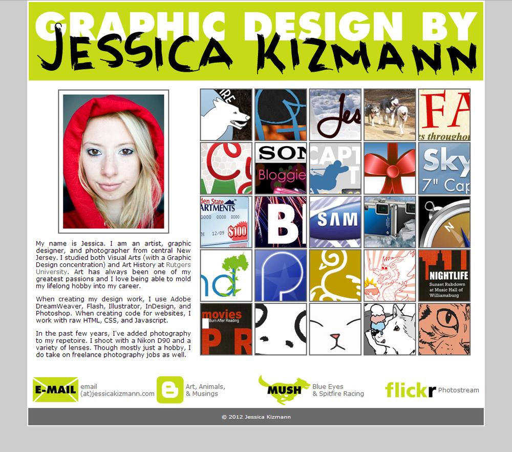 2012 Portfolio Site