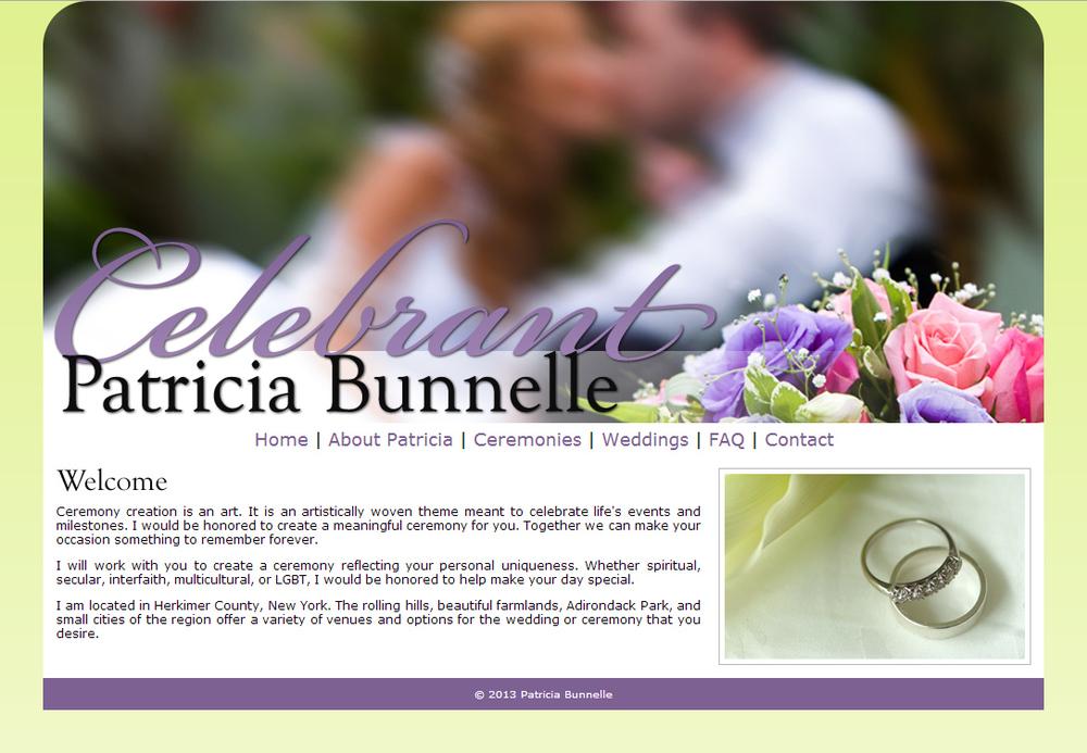 Patricia Bunnelle Celebrant