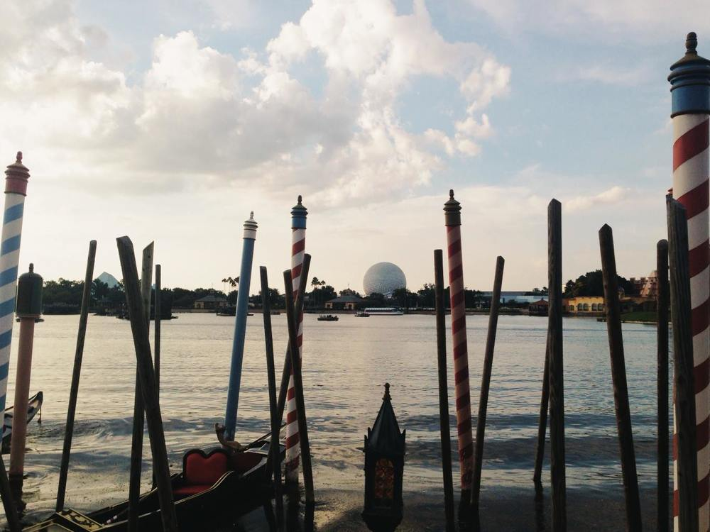 Epcot from Italy.