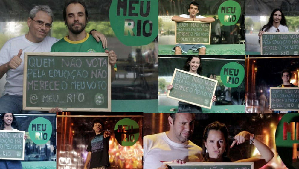 How do we create new channels for youth political participation in Rio de Janeiro?