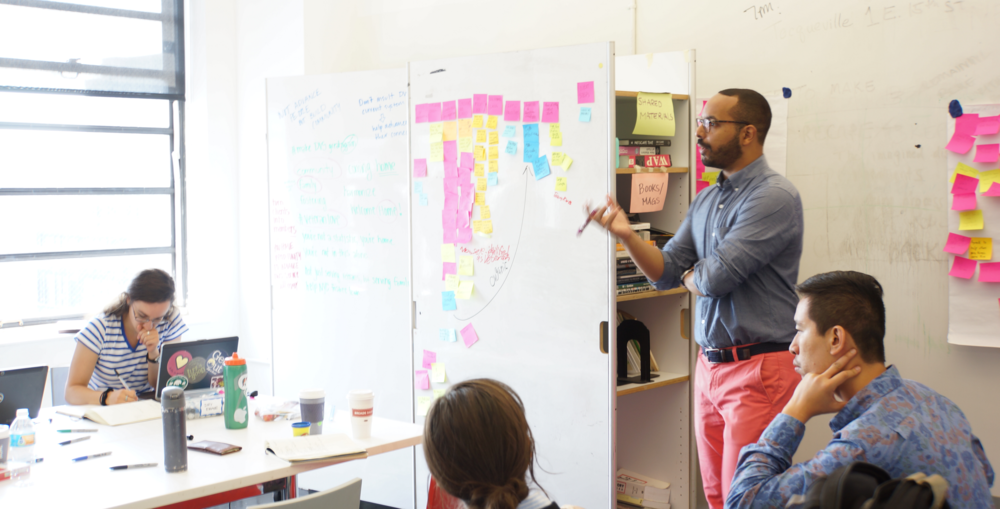 Workshops, Teaching & Facilitation - From interactive hour-long training sessions to multi-day ideation intensives, Foossa has spent years facilitating extraordinary company growth in focused, concrete time frames.