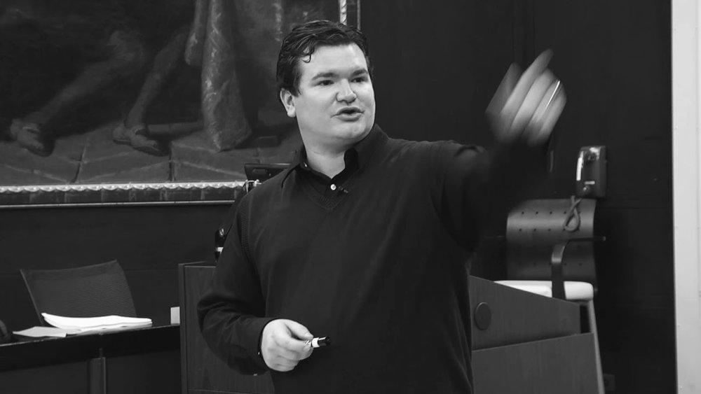 Andrew Benedict-Nelson teaching social change