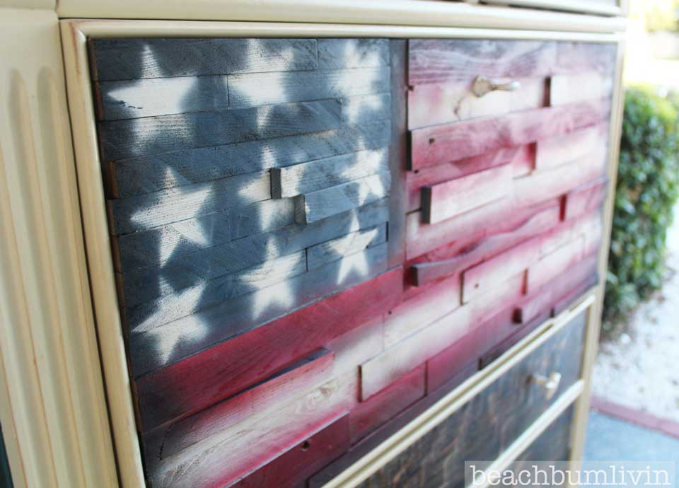 Memorial Day Project - Pallet wood American Flag