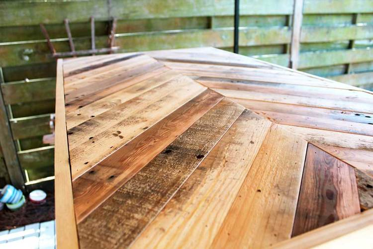 Original Pallet Wood Coffee Table Beachbumlivin Awesome Diy