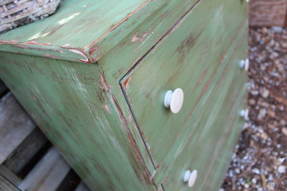 Green Dresser Beachbumlivin Awesome Diy Furniture