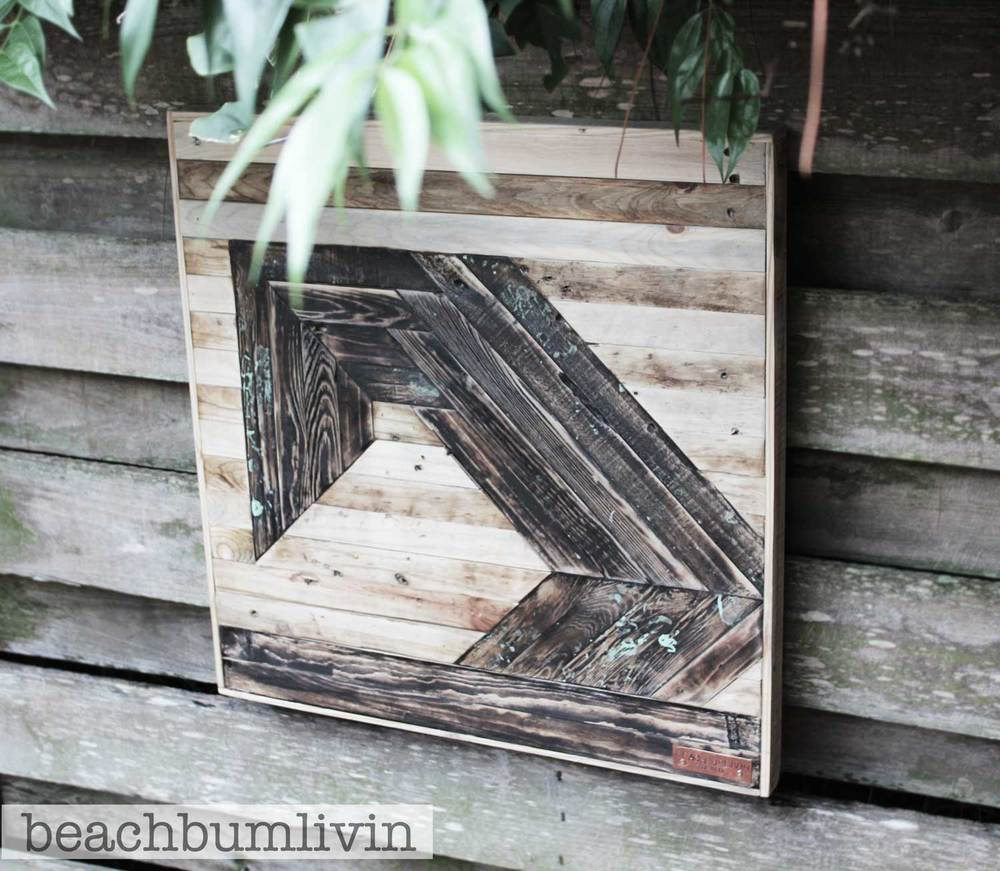 Beachbumlivin Art - recycled pallets