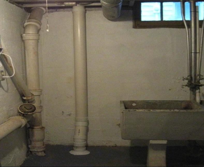 Radon Install - Inside