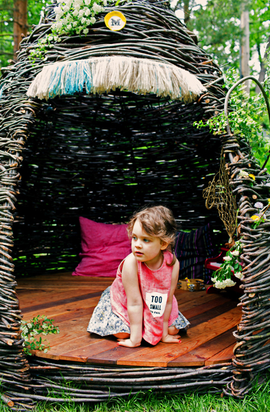cheeriup thicket natural playhouse cedar