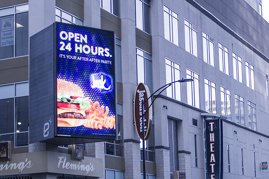 Charlotte EpiCentre LED Video Display