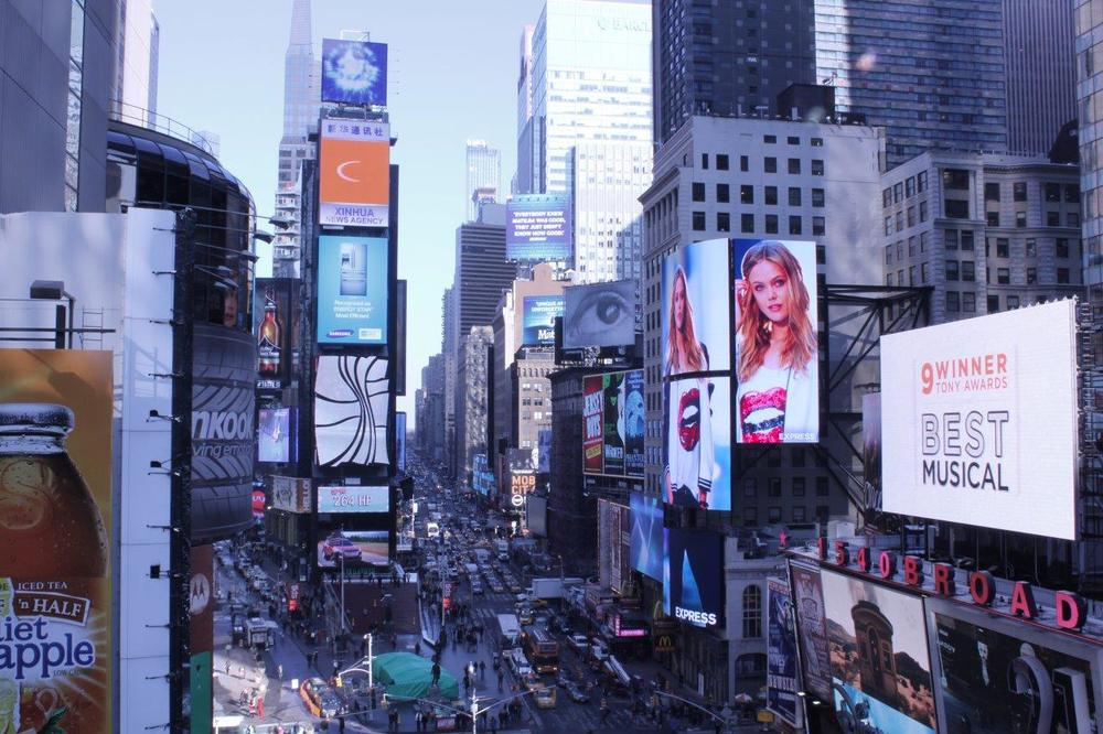 1552 Broadway Ave., Times Square