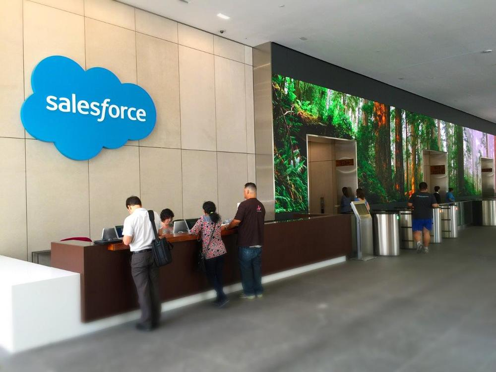 Salesforce Video Wall Sna Displays
